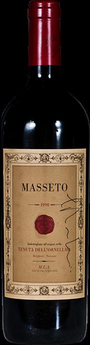 Masseto Tenuta dell'Ornellaia 1998 Bottiglia Autografata 0.75 lt.