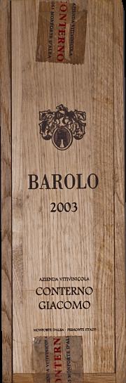 Barolo Cascina Francia Conterno 2003 1.5 lt.