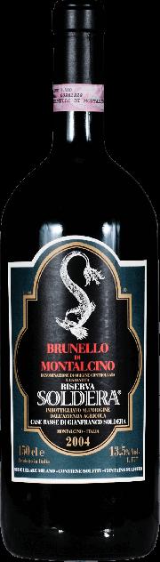 Brunello di Montalcino Riserva Soldera Case Basse 2004 1.5 lt.