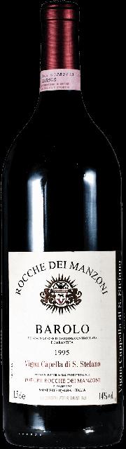 Barolo Vigna Capella di Santo Stefano Podere Rocche dei Manzoni 1995 1.5 lt.