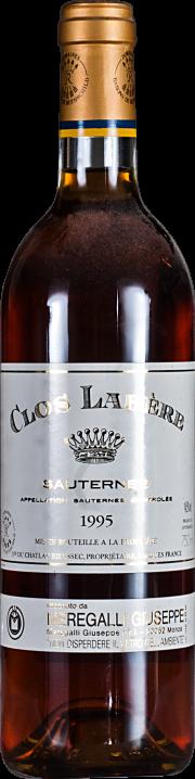 Clos Labère-Sauternes Domaines Barons de Rothschild 1995 0,75 lt.