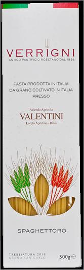 Spaghettoro Valentini per Verrigni 500 gr.