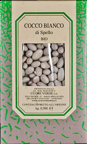 Cocco bianco biologico Cuore Verde 500 gr.