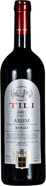 Assisi Rosso Riserva Tili 1997 0.75 lt.