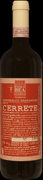 Sagrantino di Montefalco Cerrete Paolo Bea 2010 0.75 lt.