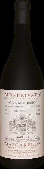 Monprivato Ca' d' Morissio Mascarello e Figlio Riserva 2010 1.5 lt.