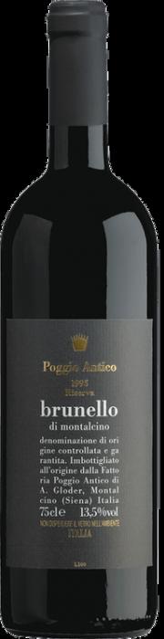 Brunello di Montalcino Poggio Antico riserva 1995 0.75 lt.