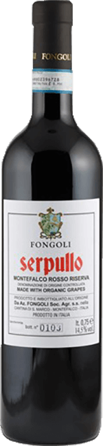 Montefalco Rosso Riserva Serpullo Fongoli 2015 0.75 lt.